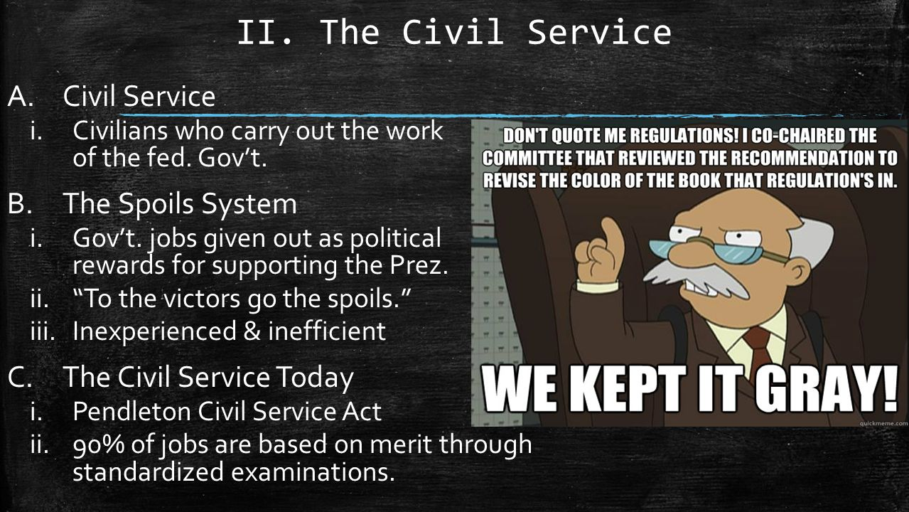 Civil Service Act : Chp the executive branch ppt video online download