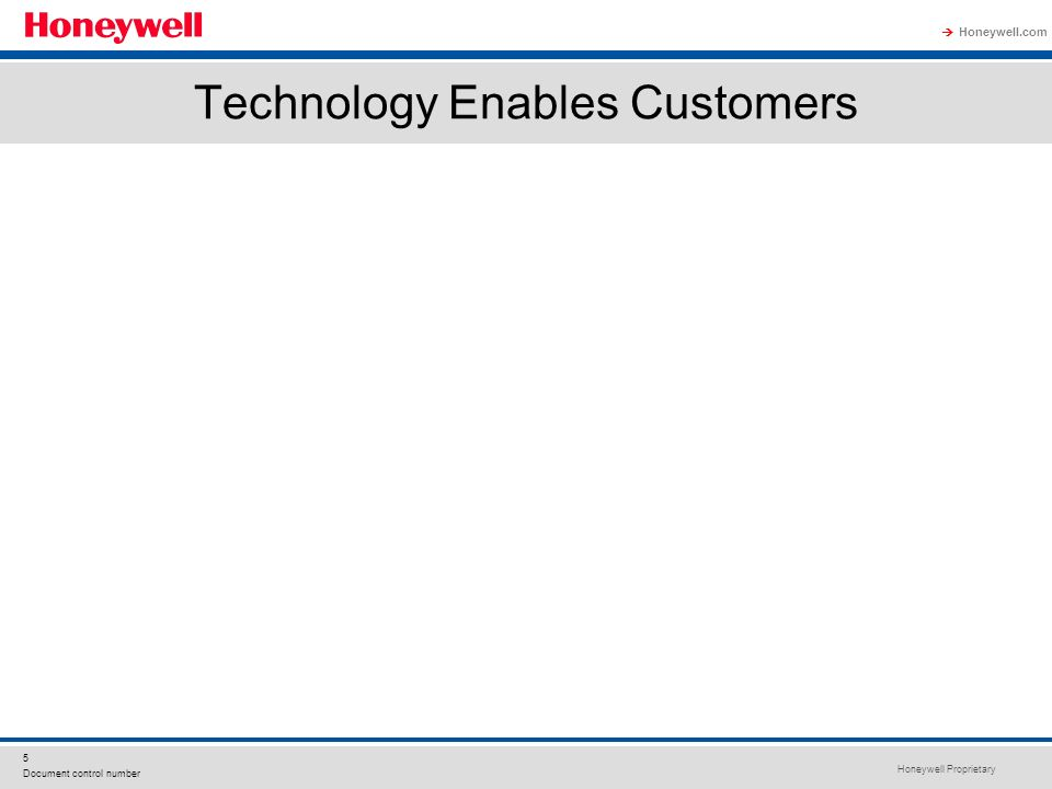 Technology Enables Customers