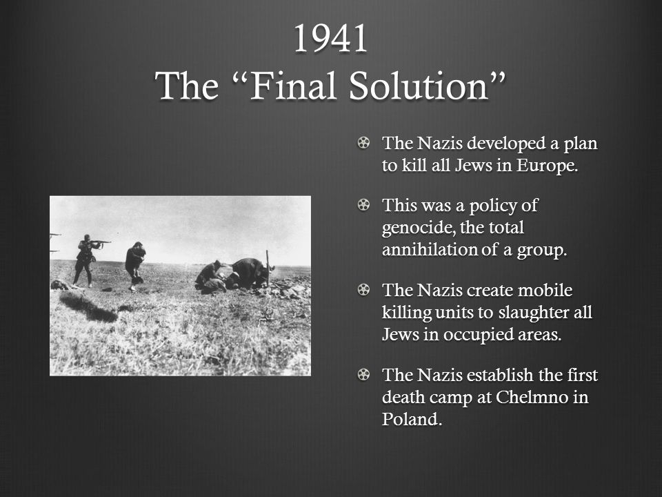 the holocaust ppt video online download