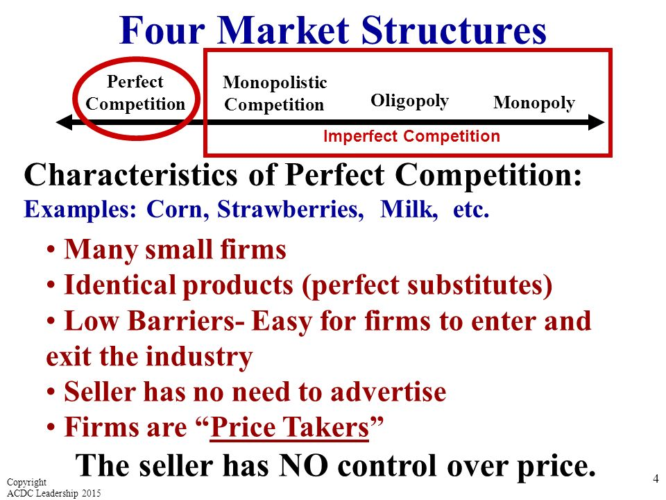 perfect competition characteristics In perfect market, goods are bought and sold under perfect competition following are the characteristics or conditions of perfect market or competition.