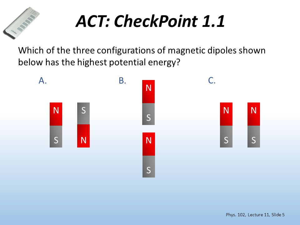 Phys 102 Lecture 11 Magnetic Dipoles Amp Current Loops