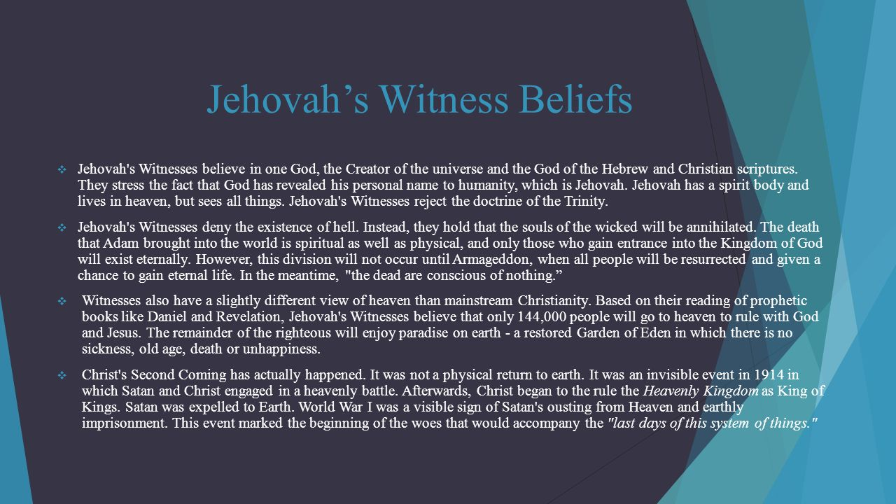 jehovas witnesses 144 000 doctrine