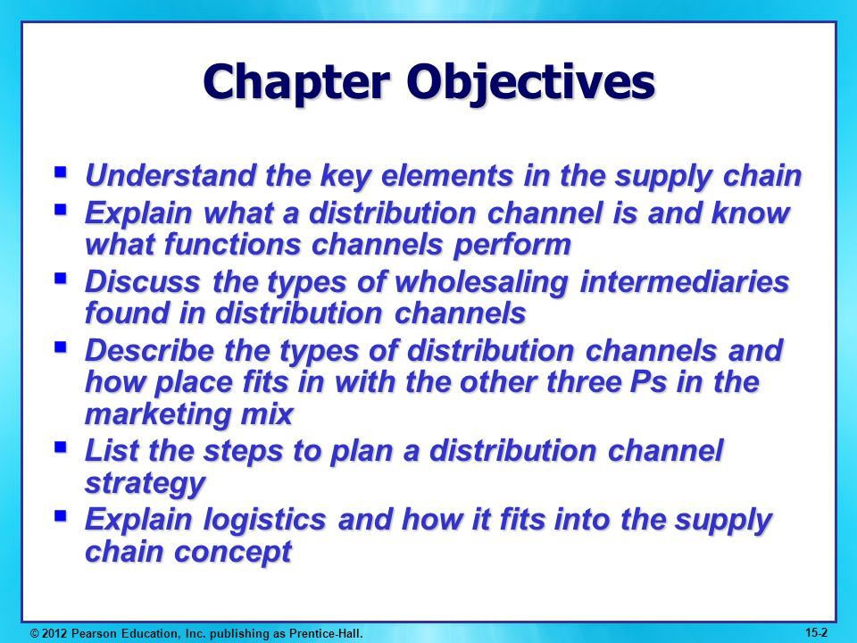 Channels of distribution and logistics - Essay Sample