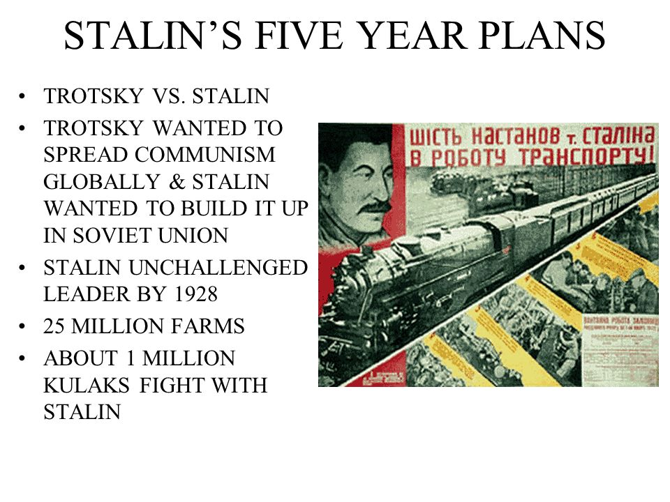 Five-year plans for the national economy of the Soviet Union