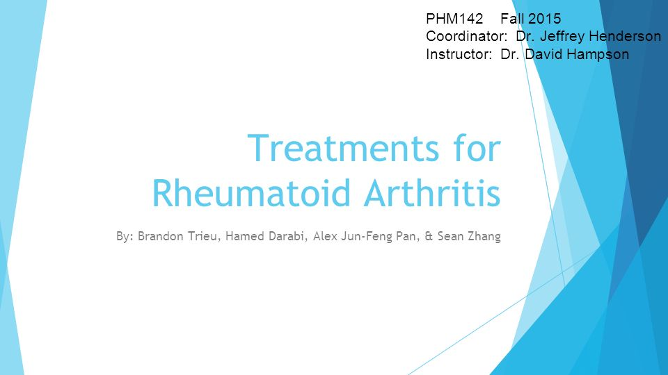 exercise refferal case study for rheumatoid