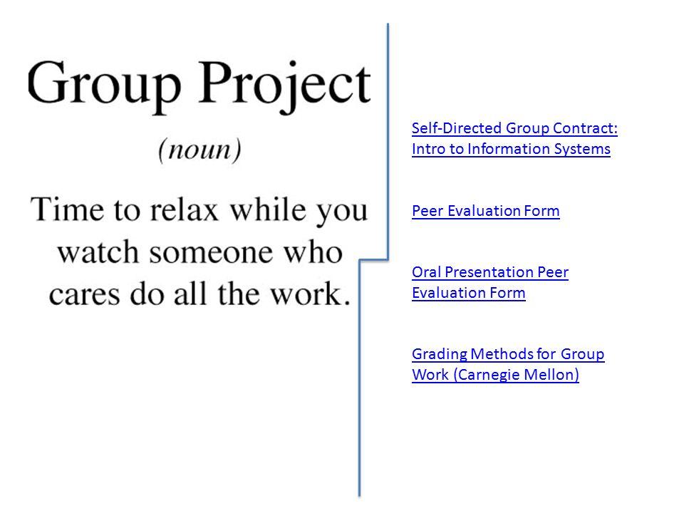 peer evaluation of presentations