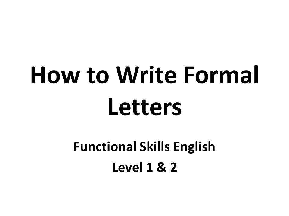 How to write formal letters ppt video online download how to write formal letters altavistaventures Gallery