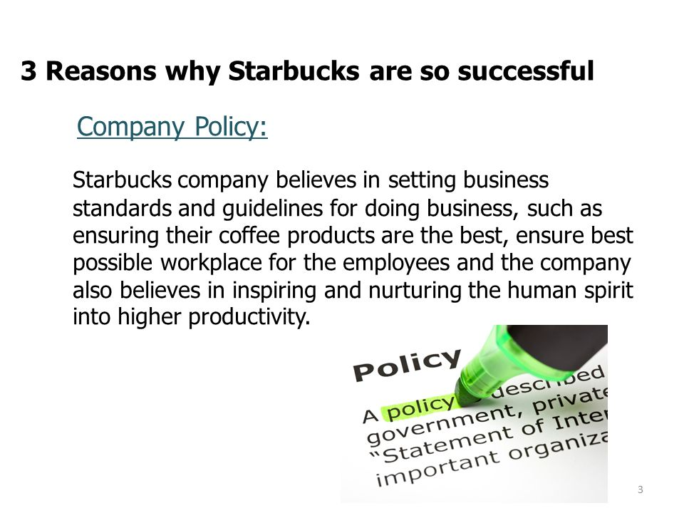 ebs project paper research by liqing class r date  3 reasons why starbucks are so successful