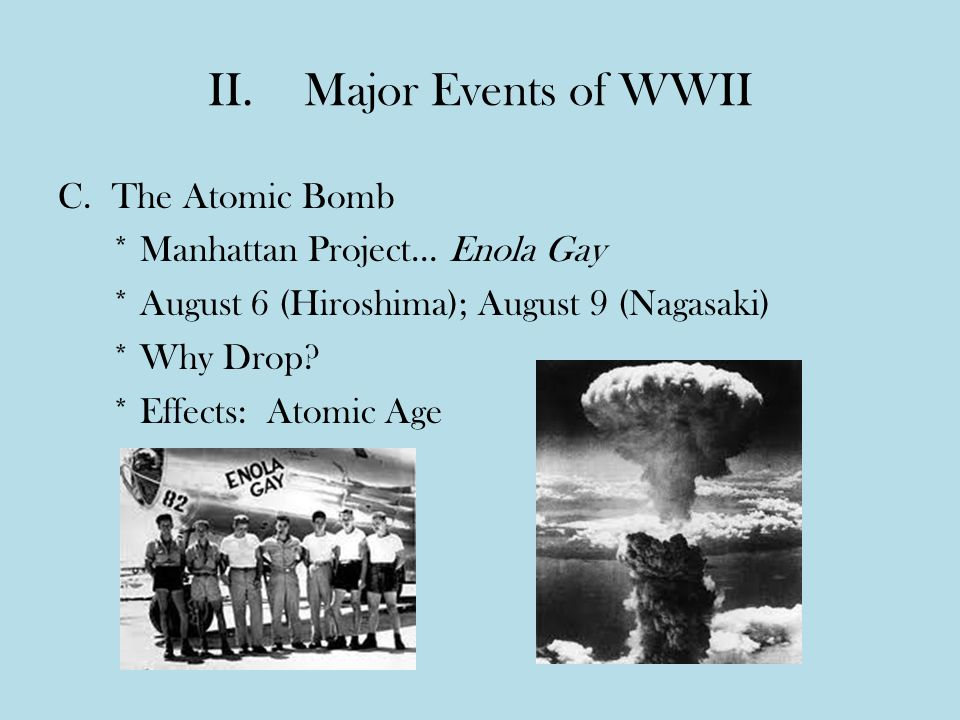 the effects of the atomic bomb