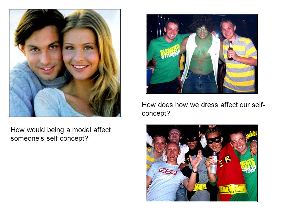 How does how we dress affect our self- concept