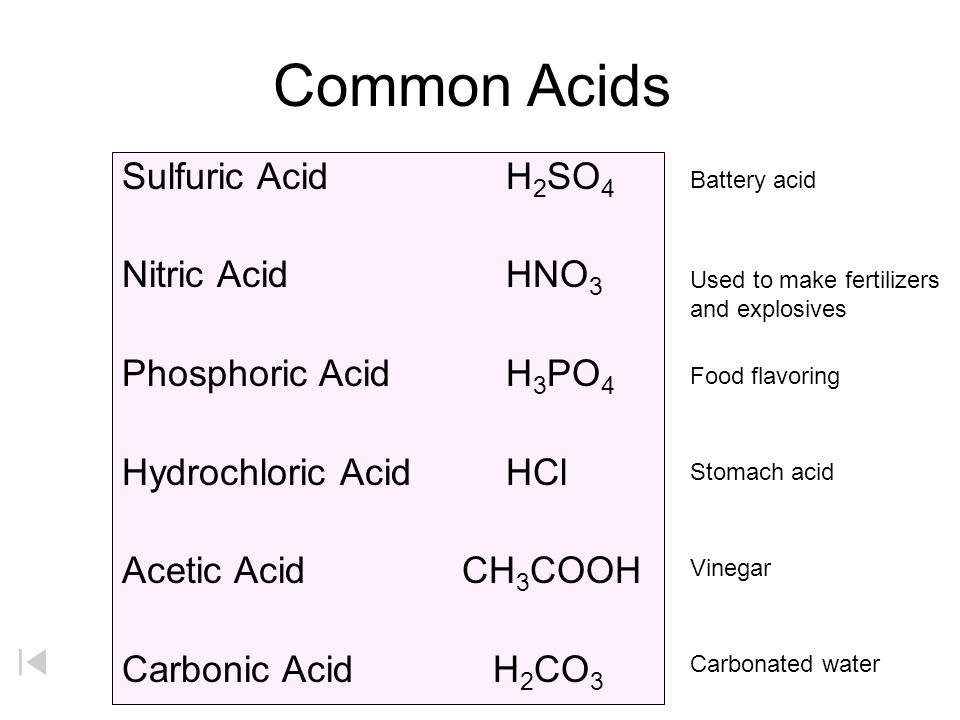 What can be added to make hydrochloric acid turn red