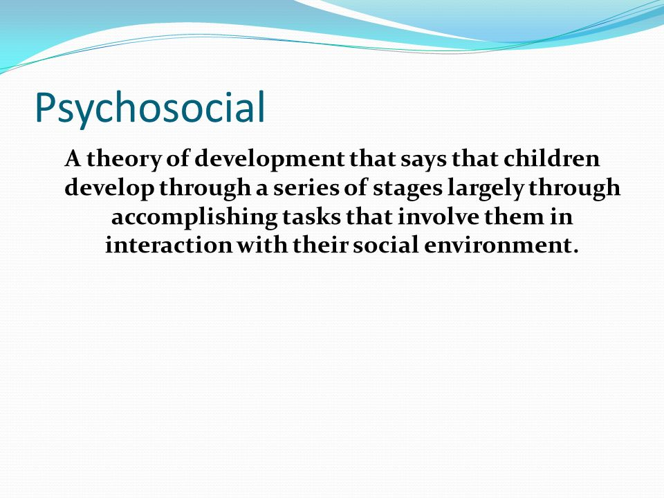 the importance of environment and interaction for the development of children The physical environment has a strong impact on both young children's learning  and development environments that are well-designed will.