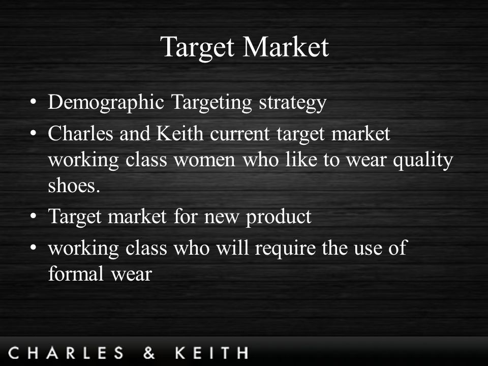 pest analysis on charles and keith company Charles and keith analysis essay  their fiscal ratios so as to be cognizant of their fiscal position and place of the company last i think that charles & a  .