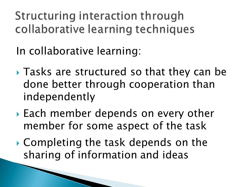 Deeper Learning A Collaborative Classroom Is Key : Communication oriented language teaching ppt video