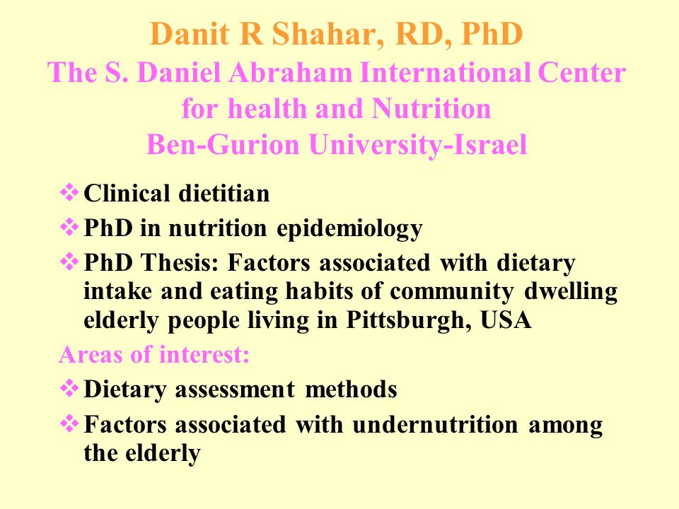 The Top 20 Good Thesis Topics On Nutrition