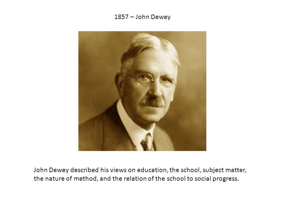 Human Nature Dewey