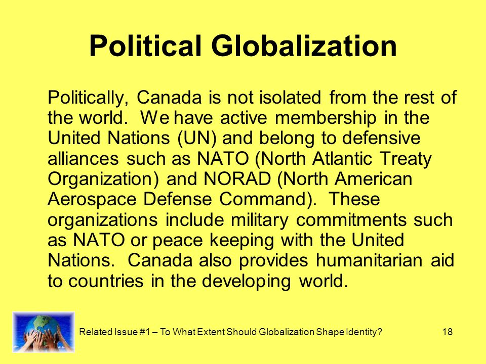 should globalization shape identity Globalization has a  rather than considering globalization in isolation, it should be understood in terms  on the capacity to shape the institutional.