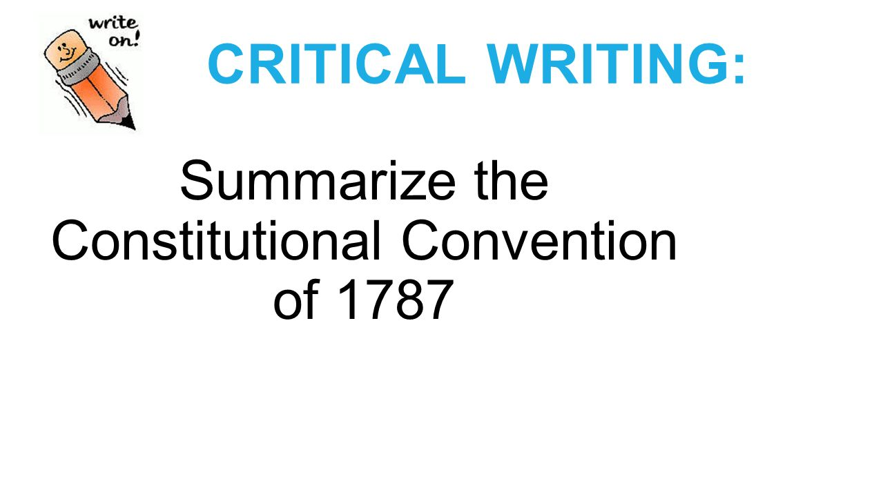 an analysis of constitutional convention of 1787 A spatial analysis of delegate voting at the  keith l 2007 an economic interpretation of the constitutional convention of 1787 revisited the journal of.