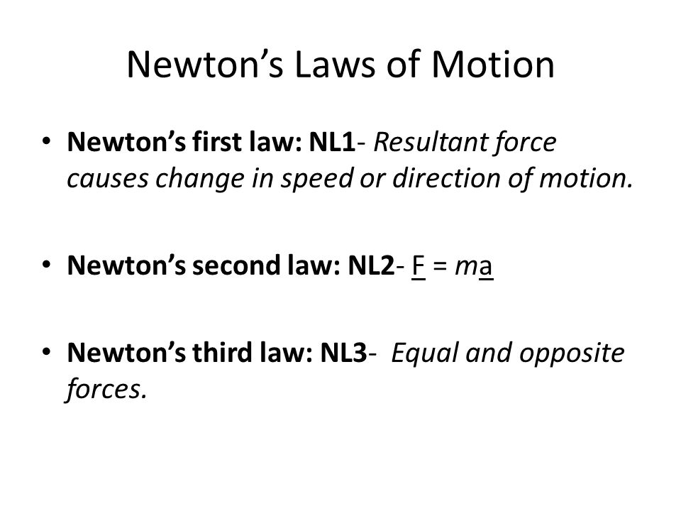 investigations of newtons law of motion In this experiment, you'll be studying newton's third law of motion and how it  applies to rocket propulsion using a balloon as a model of a.