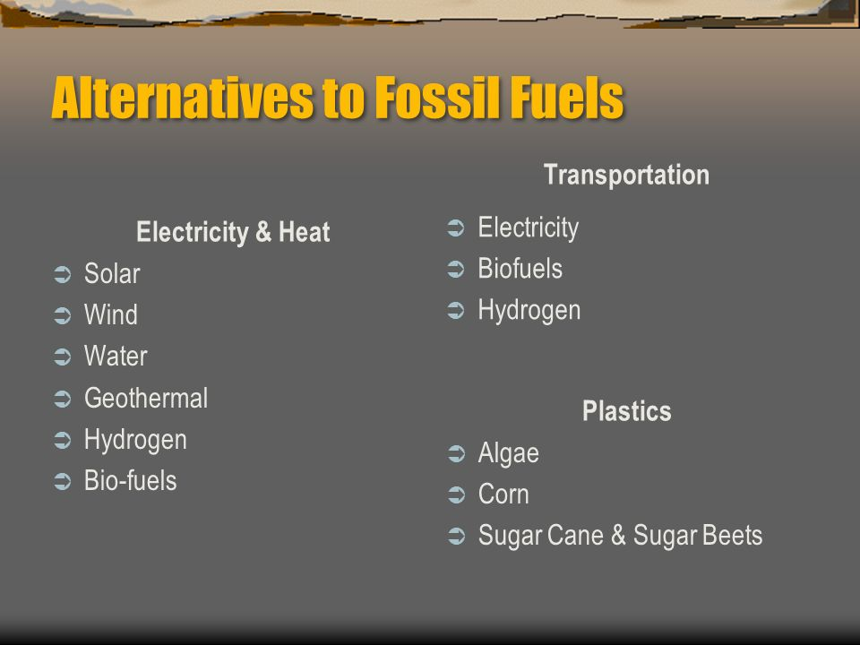 Fossil Fuels Formation Distribution Extraction