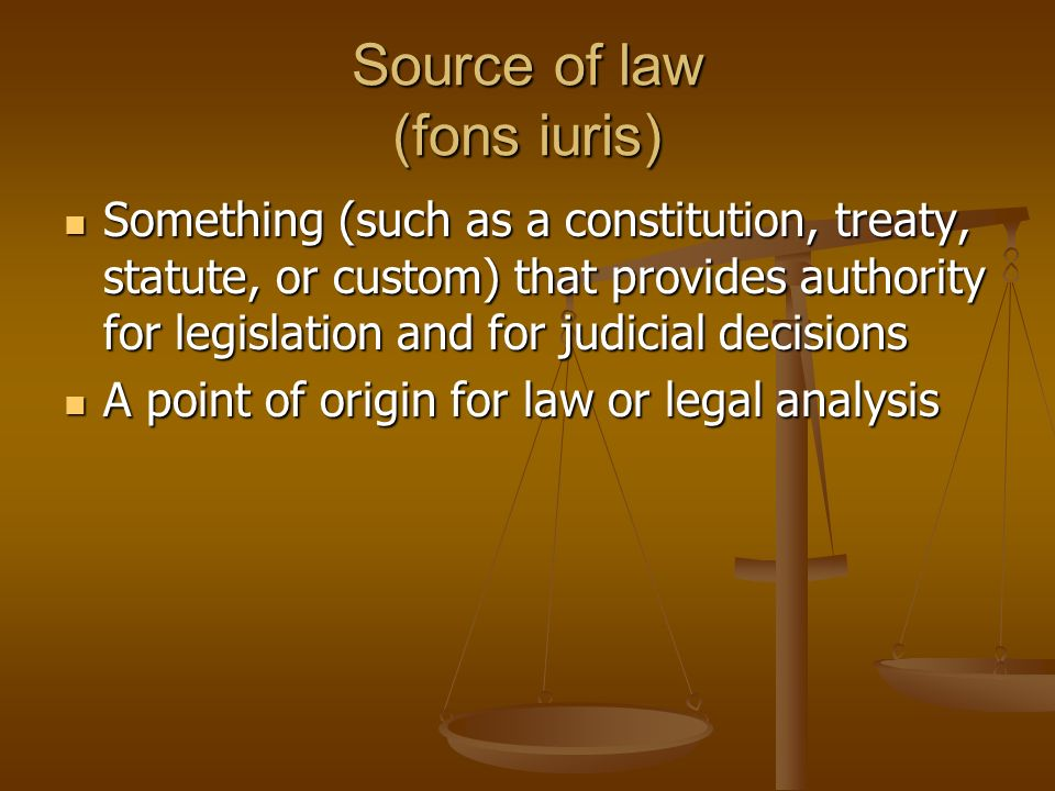 sources of english law The us generally has two sources: english common law, where a body of court decisions developed general principles of how a contract is formed, when a contract is binding, and what happens if a party defaults under an agreement, such as, by failing to deliver the goods or failing to pay for goods.