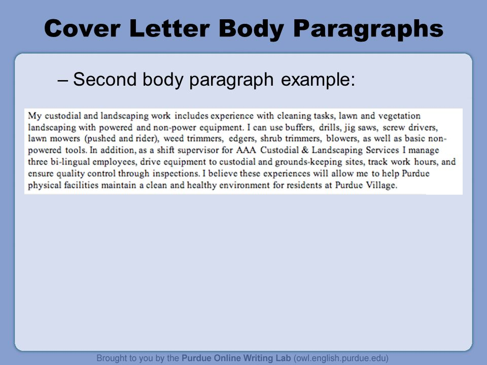 example entire body section protect letter