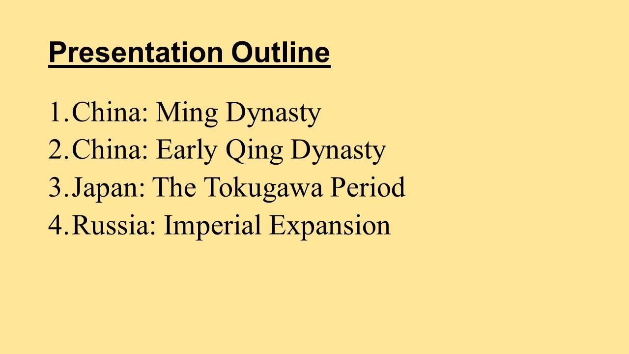 ottoman empire and ming china
