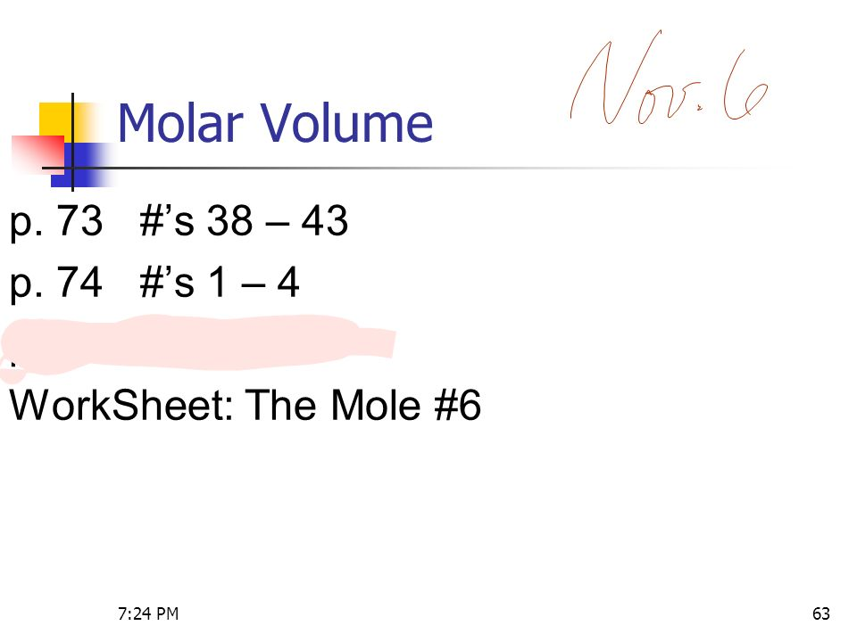 Unit 1 Stoichiometry Chemistry 27 AM ppt download – Molar Volume Worksheet