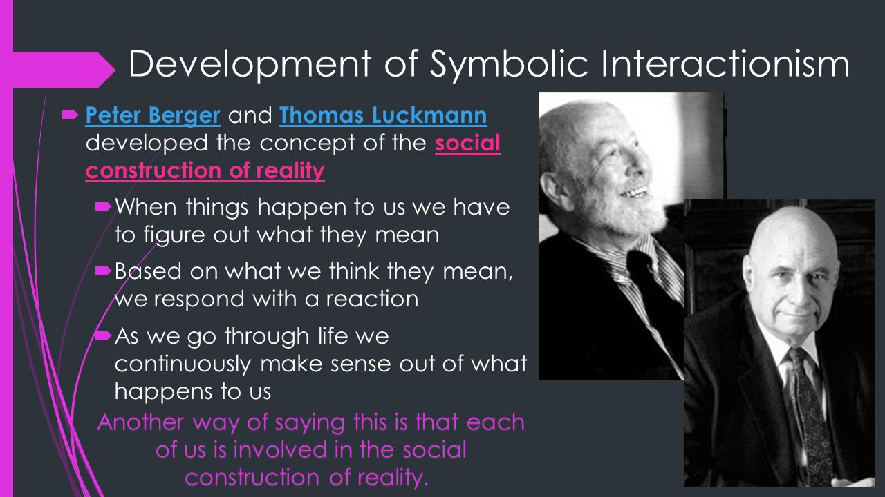 Chapter 2 interpreting social problems aging symbolic development of symbolic interactionism biocorpaavc Images