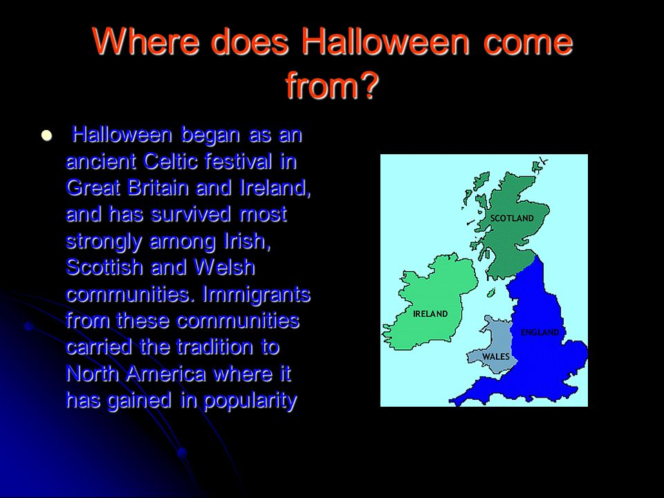 2 where does halloween come from - Where Does The Halloween Celebration Come From
