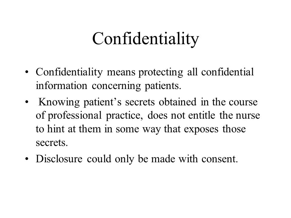 confidentiality in nursing practice National school nursing professional practice standards 2nd edition adapted from school nursing professional practice standards 2009 victorian school nurses.