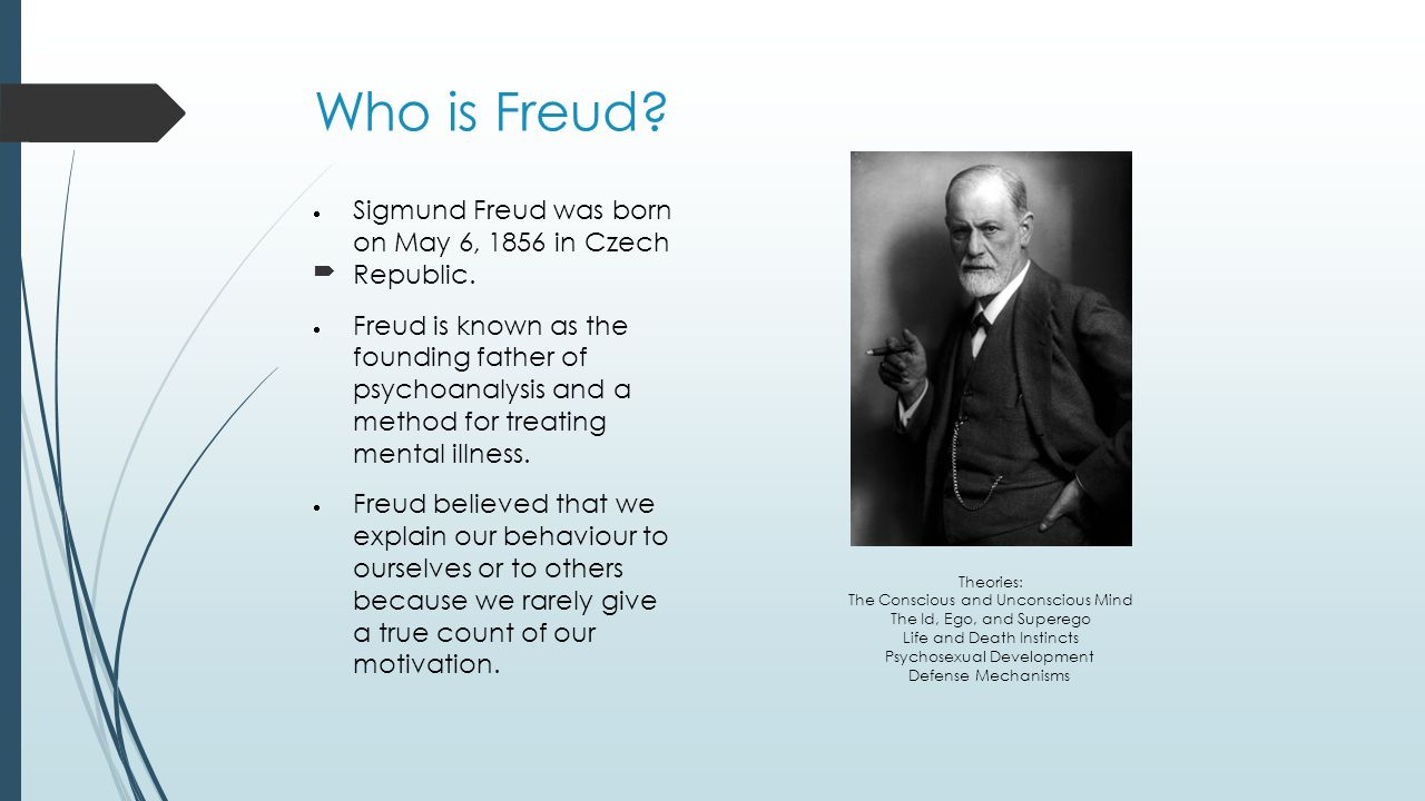 sigmund freud theory