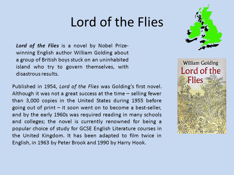 an analysis of william goldings lord of the flies on the political aspect Classic dystopian novels are experiencing a burst of popularity the bbc has  collated a list of current best-sellers that features george orwell's.