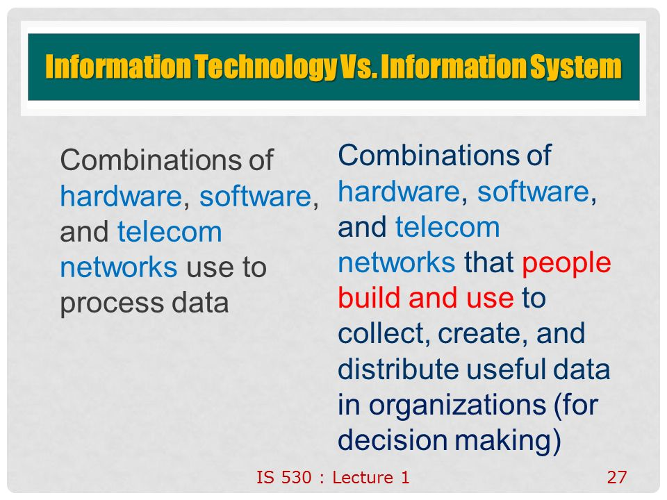 Information Technology System : Introduction to accounting information systems ppt video