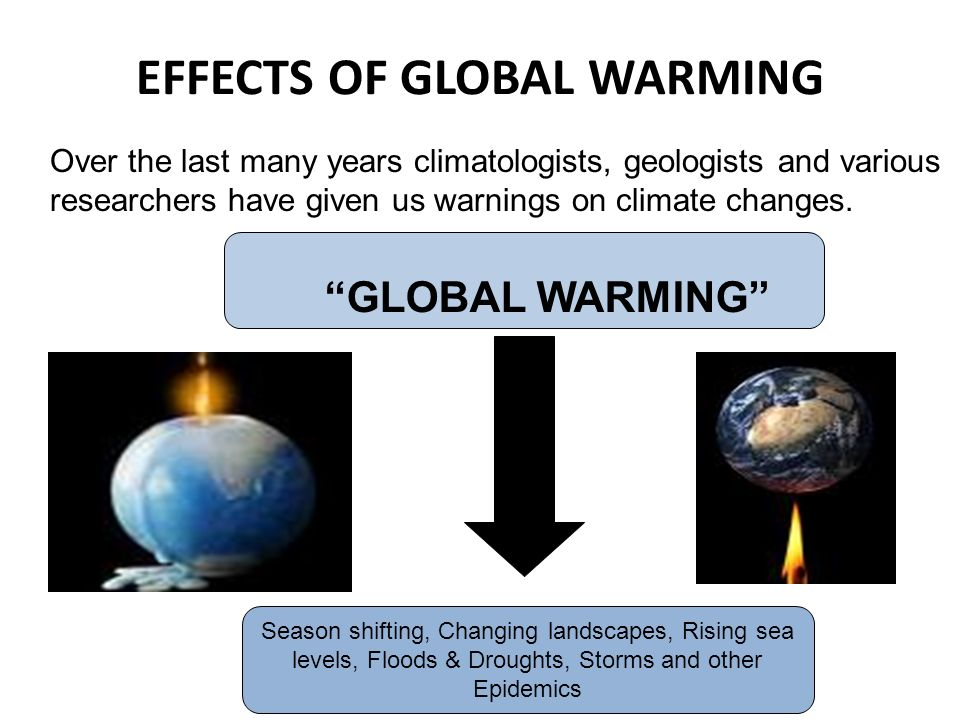 effects of global warming pdf