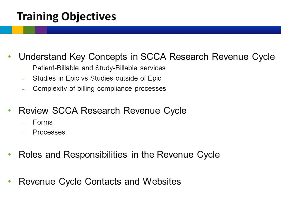 October 26, 2015 SCCA Research Revenue Cycle From Set Up to ...