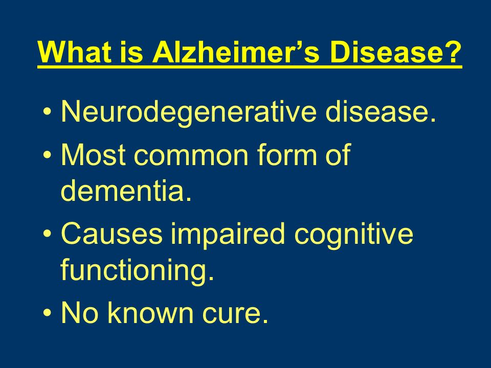 Epidemiology of Alzheimer's Disease - ppt download