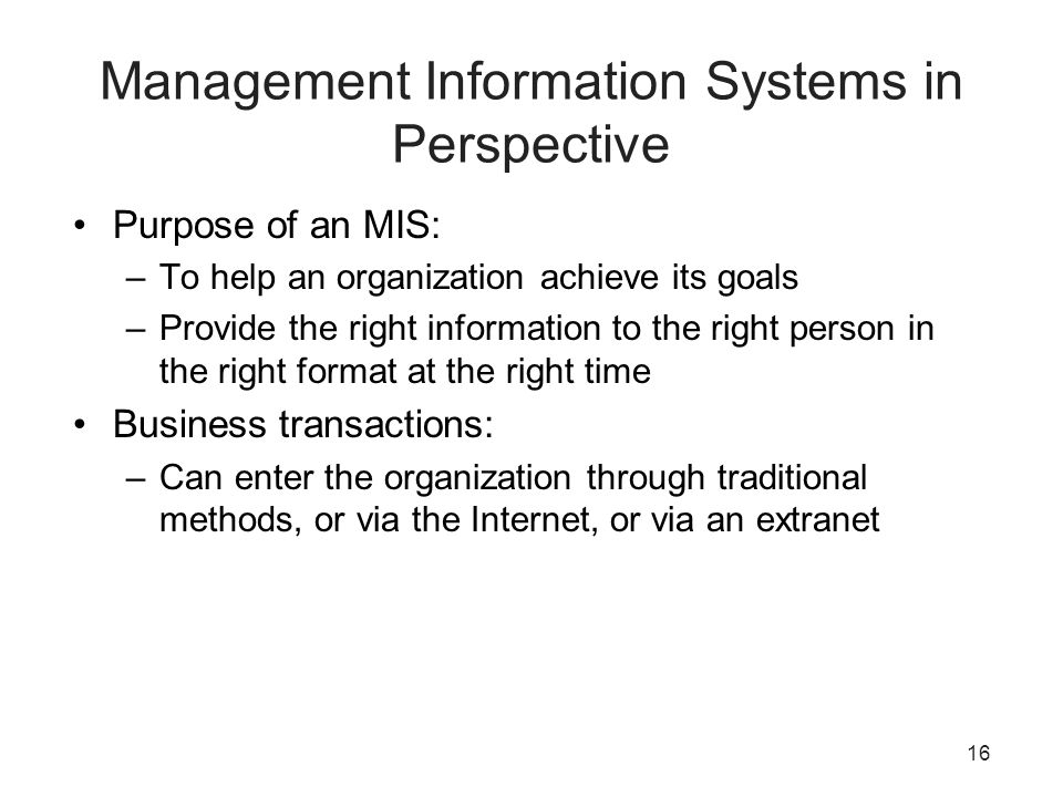 can information systems provide businesses with So, the purpose of an information system is to turn raw data into useful information that can be used for decision making in an organization general purpose vs specialized information systems.