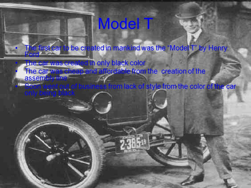 Henry Ford By: Brian Ranger. - ppt download