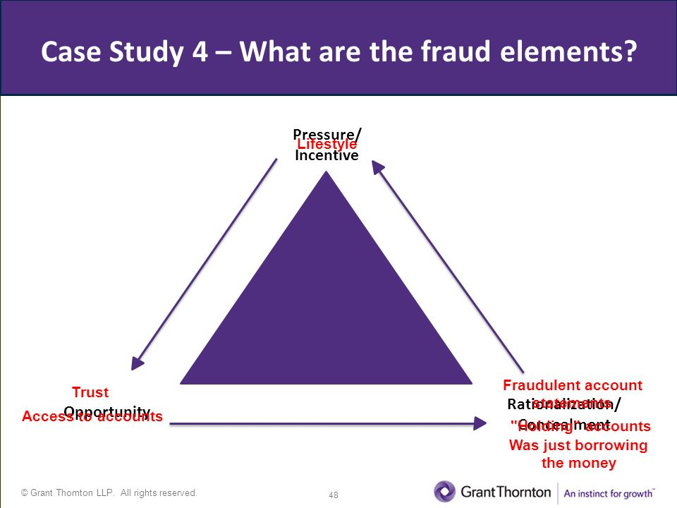 The Fraud Triangle Theory