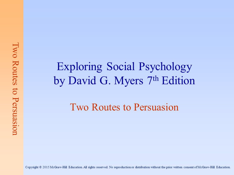 Exploring psychology (7th edition in modules) david myers.