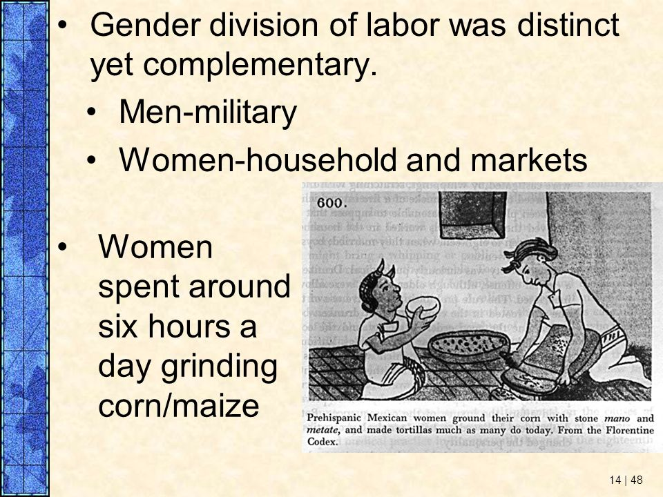 gender and the division of household labour There's no biological explanation for why women end up doing more  when the  division of household labor falls along gender lines, where.