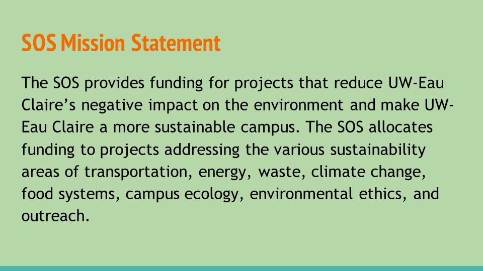 Sustainability at UWEC