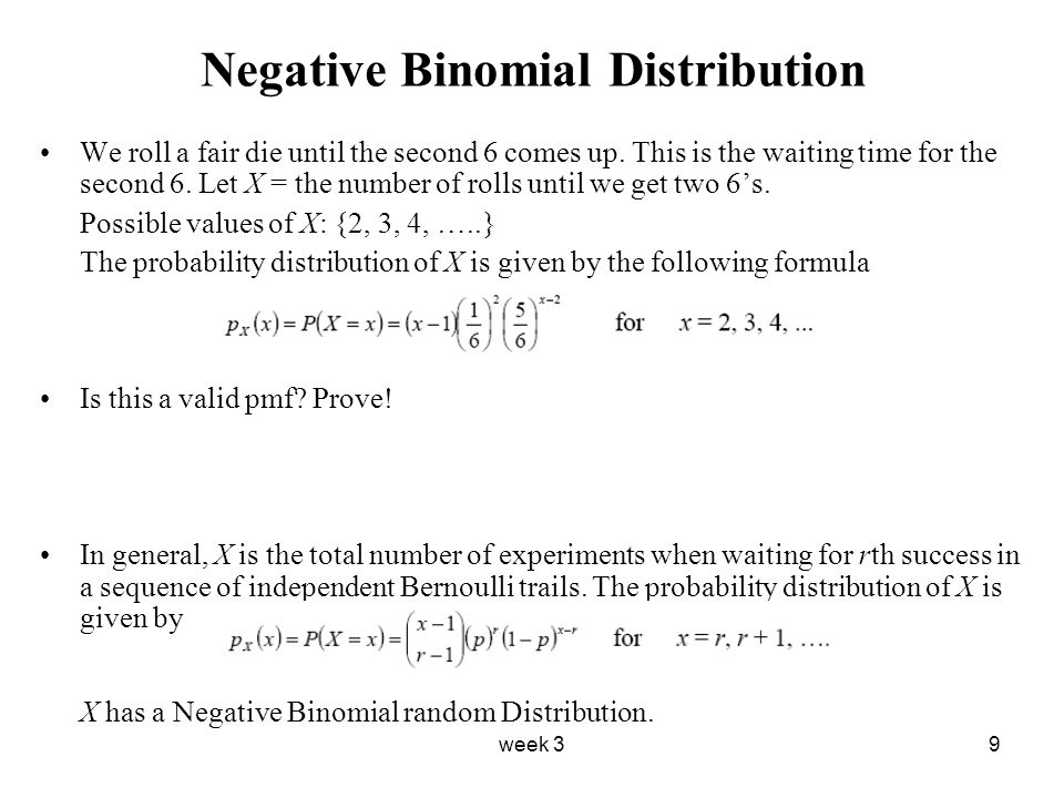 negative binomial distribution worksheet breadandhearth. Black Bedroom Furniture Sets. Home Design Ideas