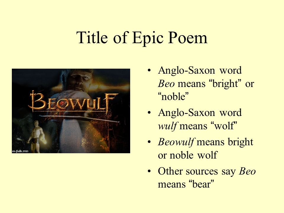 """anglo saxon heroic poetry Dispelling stereotypes about the so-called """"dark ages,"""" this lesson helps students learn about the production of early manuscripts and the conventions of anglo-saxon poetry, solve online."""