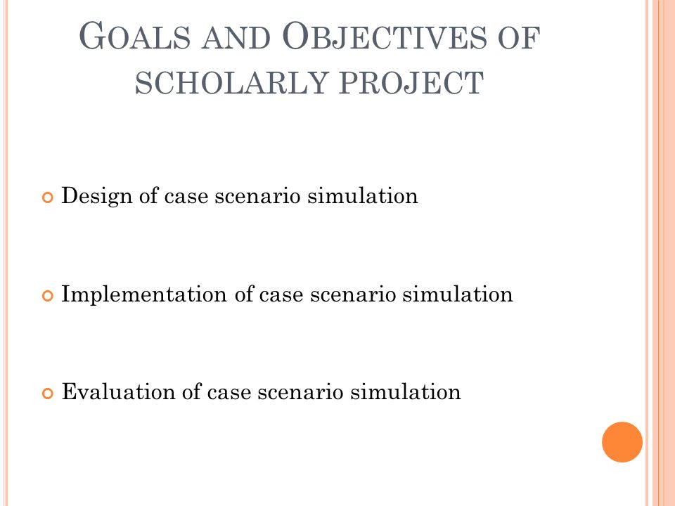 Project wide or objective oriented evaluations