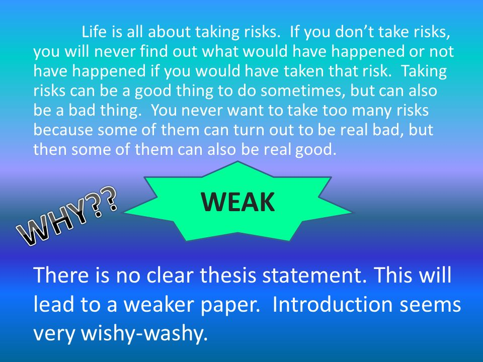 writing an expository essay ppt video online  life is all about taking risks