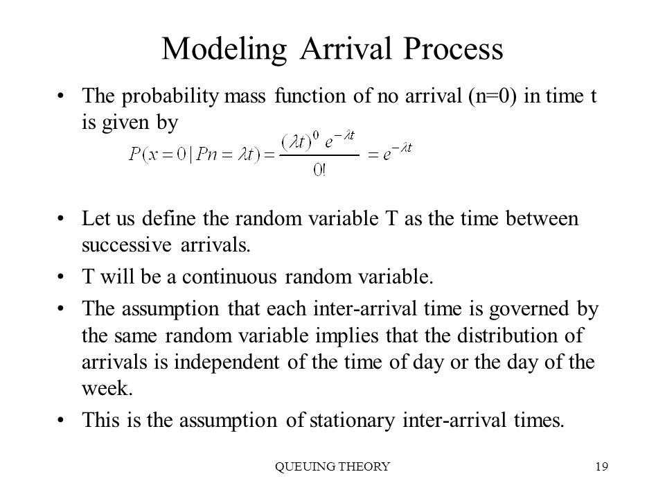 average inter arrival time Copying or secondary use of this information in whole or in part for the purpose of reproduction, publication, broadcasting or presentation, etc without approval is.