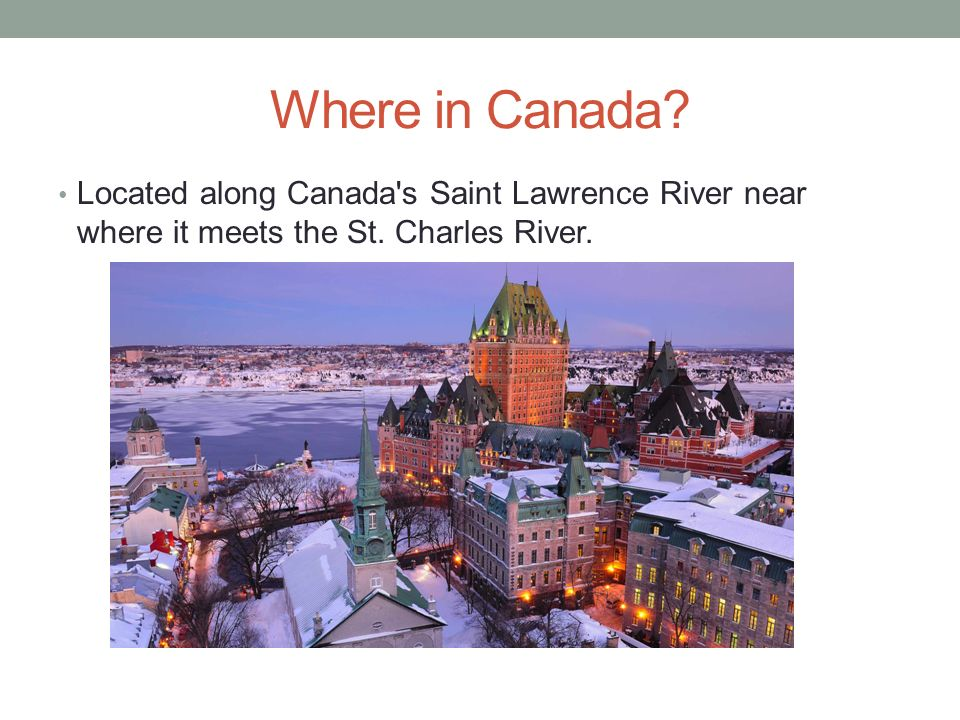 Concepts Of Geographic Thinking Ppt Video Online Download - Where is canada located