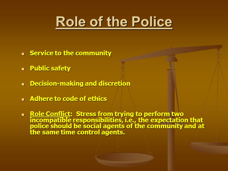 Police Discretion Definition